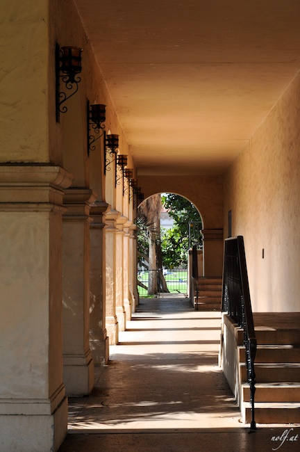 Ancient Passage in Balboa Park, San Diego